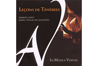 In Musica Veritas - Lecons De Tenebres [CD]