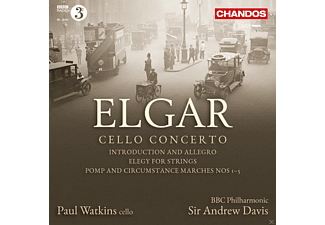 Paul Watkins, Bbc Philharmonic, Andrew Davis - Cello Concerto - (CD)