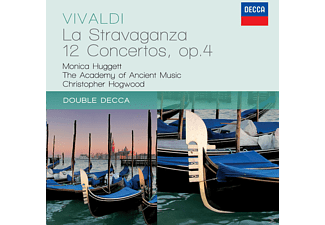 Christopher Hogwood, Academy Of Ancient Music, Huggett Monica - La Stravaganza - 12 Concertos Op.4 [CD]