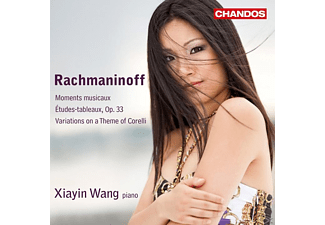 Xiayin Wang - Moments musicaux/ Études-tableaux Op.33/ Variations on a Theme of Coreli - (CD)