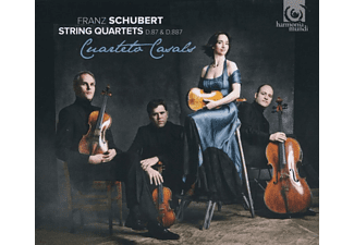 Cuarteto Casals - String Quartets D.87 & D.887 - (CD)