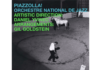 Yvinec Daniel, Orchestre National De Jazz - Piazzolla! - (CD)