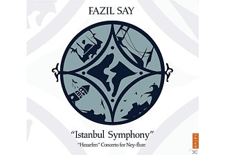 Fazil Say, Borusan Istanbul Philharmonic Orchestra - Istanbul Symphony / Hezarfen Concerto For Ney And Orchestra - (CD + DVD Video)