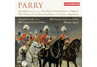 Bbc National Chorus Of Wales, Roocroft Amanda * - Parry: Orchester- Und Chorwerke - (CD)