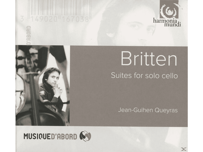 Jean-Guihen Queyras - Cellosuiten [CD]