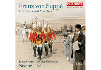 Rsno Conducted By Neeme Järvi - Ouvertüren und Märsche - (SACD Hybrid)