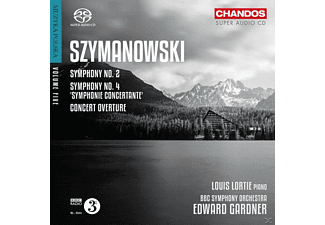 Bbc Symphony Orchestra Conducted By Edward Gardner - Sinfonien 2 & 4 - (SACD Hybrid)