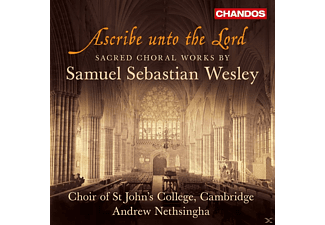 Andrew Nethsingha, John Challenger, Cambridge Choir Of St John's College - Ascribe unto the Lord - (CD)