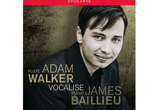 Adam Walker, James Baillieu - Vocalise - (CD)