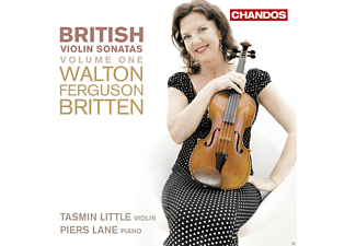Tasmin Little, Lane Piers - British Violin Sonatas - (CD)