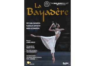 The Bolshoi Ballet, The Bolshoi Theatre Orchestra - La Bayadere - (DVD)