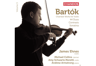 James Ehnes, Michael Collins, Amy Schwartz Moretti, Andrew Armstrong - Chamber Works For Violin - (CD)