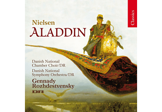 Mette Ejsing, Danish National Chamber Choir, Danish National Symphony Orchestra - Aladdin - (CD)