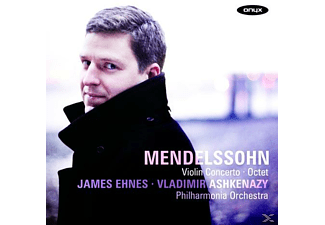 James Ehnes, The Philharmonia Orchestra - Mendelssohn: Violinkonzert / Oktett - (CD)