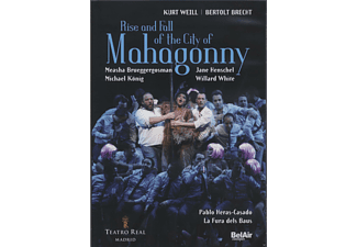 VARIOUS, Orquesta Y Coro Del Teatro De Madrid - Rise And Fall Of The City Of Mahagonny - (DVD)