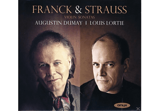 Louis Lortie, Dumay Augustin - Violinsonate / Mélancolie / Prelude, Fugue & Variation - (CD)