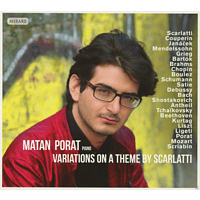 Matan Porat - Variations On A Theme By Scarlatti [CD]