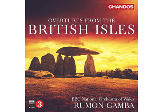 Bbc National Orchestra Wales - Overtures From The British Isles - (CD)