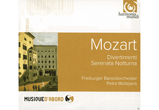 Freiburger Barockorchester - Divertimenti - Serenata Notturna - (CD)