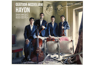 Quatuor Modigliani - Haydn-Quartets Vol.2 - (CD)