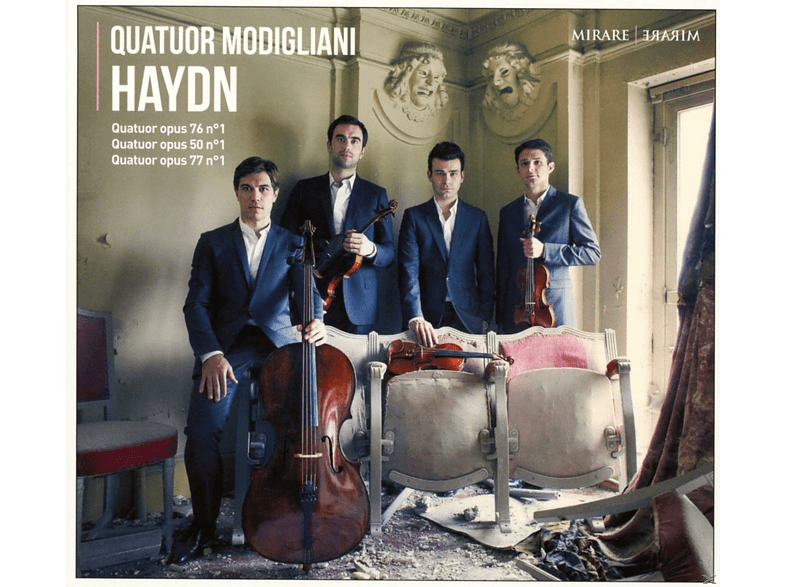 Quatuor Modigliani - Haydn-Quartets Vol.2 [CD]