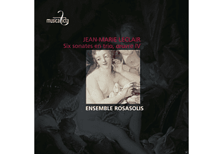 Ensemble Rosasolis - Leclair: Six Sonates En Trio Oeuvre Iv - (CD)