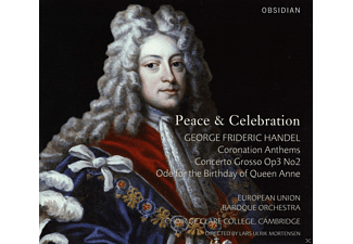 European Union Baroque Orchestra, Choir Of Clare College Cambridge - Peace & Celebration - (CD)