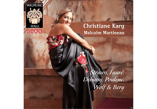 Christiane Karg, Malcolm Martineau - Strauss / Faure / Wigmore Hall Live - (CD)