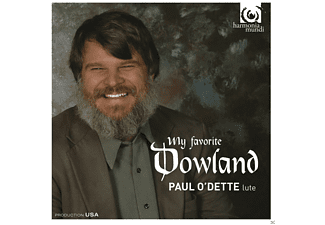 Paul O'dette - My Favorite Dowland - (CD)