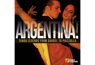 VARIOUS - Argentina! Tango Legends From Gardel To Piazzolla - (CD)