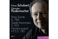 Georges Pludermacher (pno) - Klaviersonaten Vol.3/Sonate D.784 [CD]