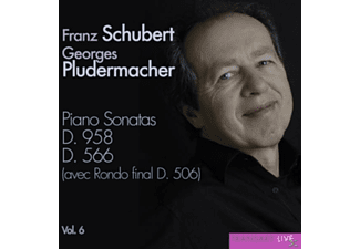 Georges Pludermacher - Klaviersonaten D.958 & 566 Vol.6 - (CD)