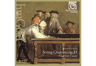 Cuarteto Casals - String Quartets Op.33 - (CD)
