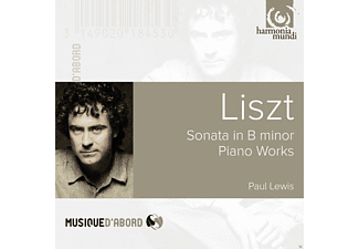 Paul Lewis - Sonata In B Minor - (CD)