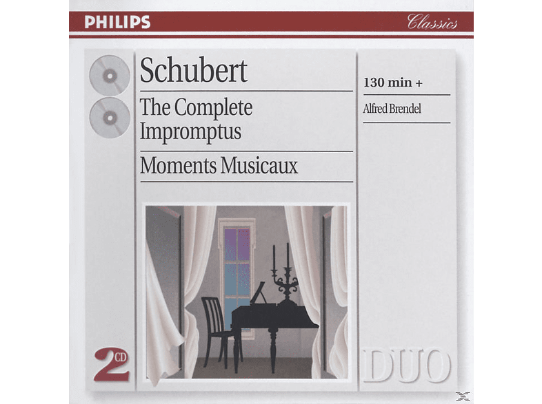 Alfred Brendel, Franz Schubert - The Complete Impromptus - Moments Musicaux [CD]