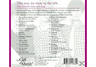 VARIOUS - The Way We Were In The 60s - (CD)