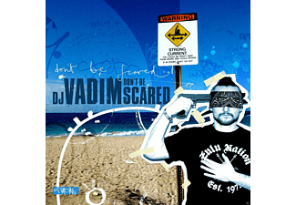 Dj Vadim - DON T BE SCARED (GATEFOLD) - (Vinyl)