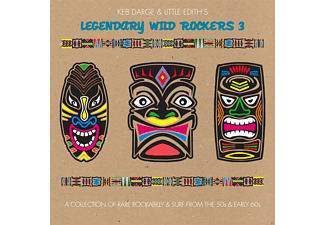 VARIOUS - Legendary Wild Rockers 3 - A Collection Of Rare Rockabilly & Surf From The 50s & Early 60s - (CD)
