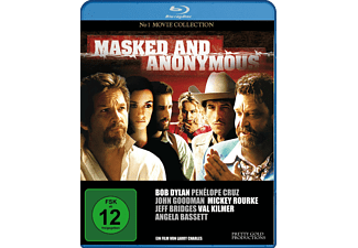MASKED AND ANONYMOUS - (Blu-ray)