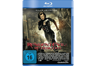 Resident Evil: Retribution - (Blu-ray)
