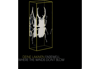Deine Lakaien - Farewell/Where The Winds Don't Blow (4-Track Maxi) - (Maxi Single CD)