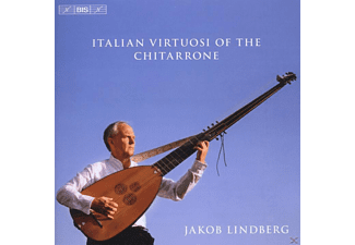 Jakob Lindberg - Italian Virtuosi Of the Chitarrone - (CD)