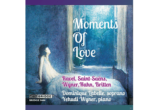 Dominique Labelle, Yehudi Wyner - Moments Of Love - (CD)
