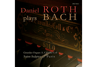 Roth Daniel - Daniel Roth Plays Bach - (CD)