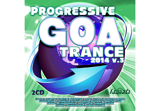 VARIOUS - Progressive Goa Trance 2014 Vol.3 - (CD)