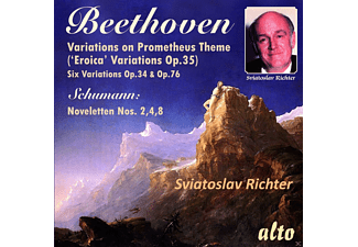 Sviatoslav Richter - Beethoven Variations For Piano - (CD)