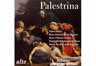 Pro Cantione Antiqua, Bruno Turner, Mark Brown - Missa Aeterna/Stabat Mater/Hymn - (CD)