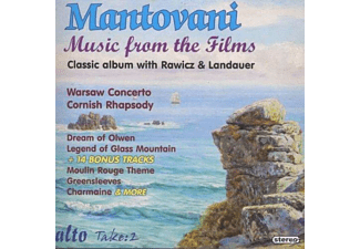 Annunzio Paolo Mantovani, Marjan Rawicz, Walter Landauer - Mantovani: Music From The Films - (CD)