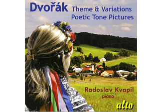 Radoslav Kvapil - Theme & Variations - Poetic Tone Pictures - (CD)
