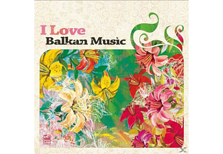VARIOUS - I Love Balkan Music-Vol.2 [CD]